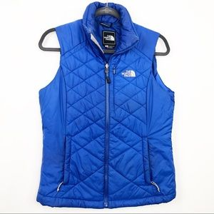 The North Face Blue Puffer Vest